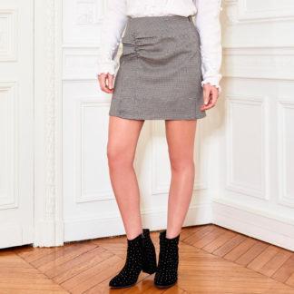 mini falda pata de gallo de Suncoo con funcido