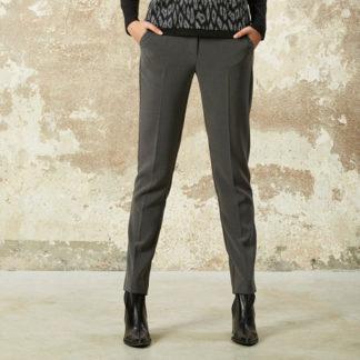 pantalon gris con bolsillos tipo chino de Andamio señora