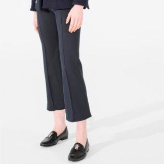 pantalón tobillero marino de mujer de vilagallo