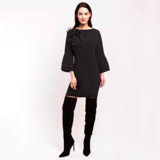 vestido corto tipo túnica, linea joven Alba Conde