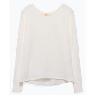 camiseta de lineas amplias blanca oscuro de American Vintage