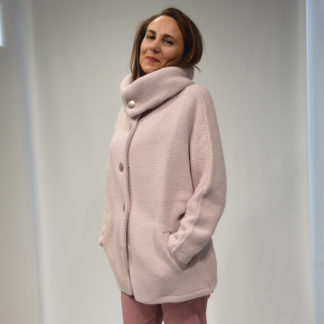 Maxichaqueta punto rosa Aisa AMS PURE