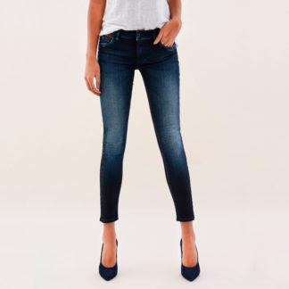 Jeans push up tobillero fantasía de salsa para mujer