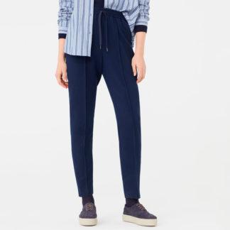 Pantalon marino con cintura elastica WWH112 NICE THINGS