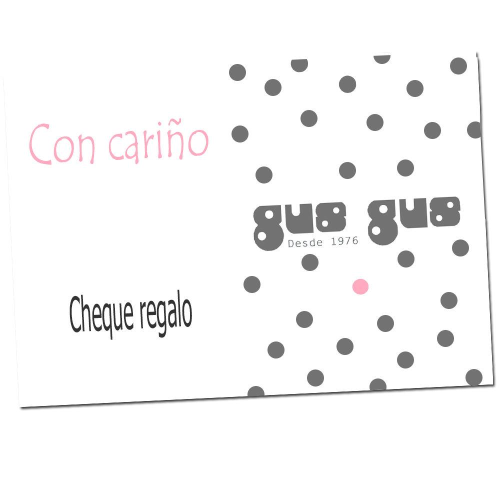 cheque regalo gus gus boutique