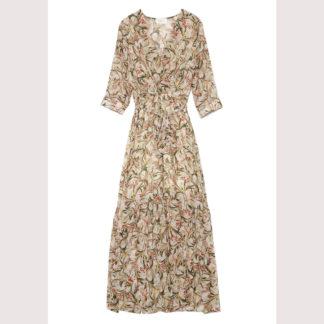 Vestido largo vaporoso Saphir GRACE & MILA