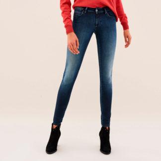 Jeans tobilleros con cinturilla strass 121569 SALSA JEANS