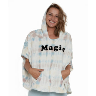 Sudadera poncho Sunset Batik 13_834 Magic DEAR TEE