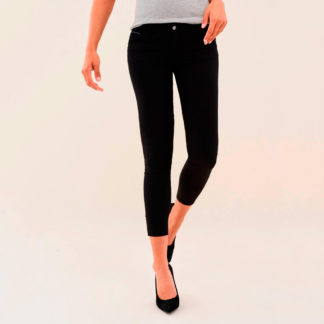 Jeans push up con strass