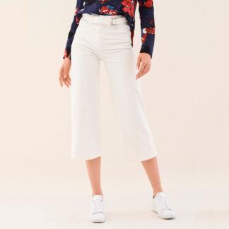 Pantalon crop ancho de pana fina Salsa Jeans