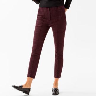 Pantalon pitillo con estampado corbatero Brax