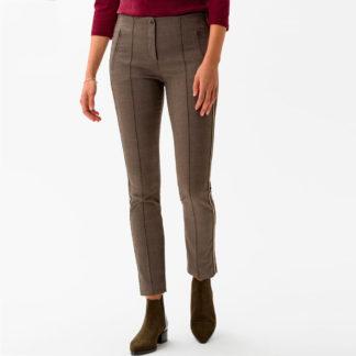 Pantalon pitillo cuadro gales banda lateral brax