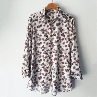 Camisa algodon estampado cachemira gerry weber