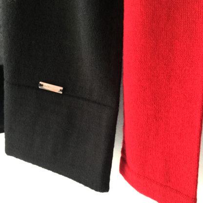 Jersey con intarsias tricolor olga santoni