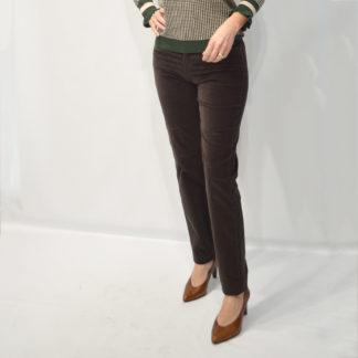 Pantalon terciopelo marron brax