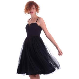 Vestido bailarina con falda tutu Denny Rose