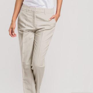 Pantalón de vestir en lino satinado AC