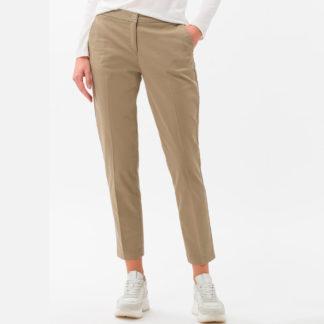 Pantalon beige chino con cintura elastica Brax