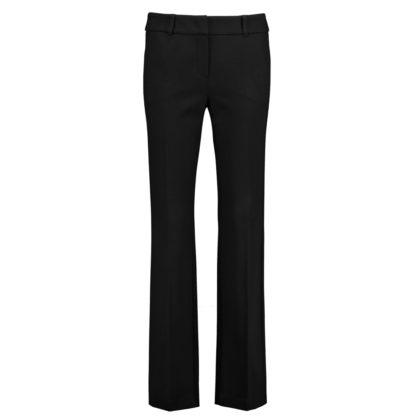 Pantalon de vestir negro en punto roma Taifun