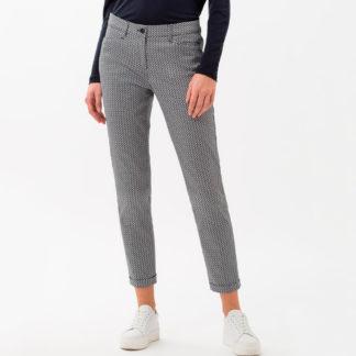 Pantalon tobillero estampado corbatero Brax