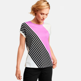 camiseta manga corta japonesa diagonales Gerry Weber