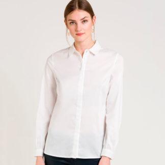 Camisa básica camisera de manga larga Naf Naf