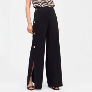 Pantalón con aberturas laterales