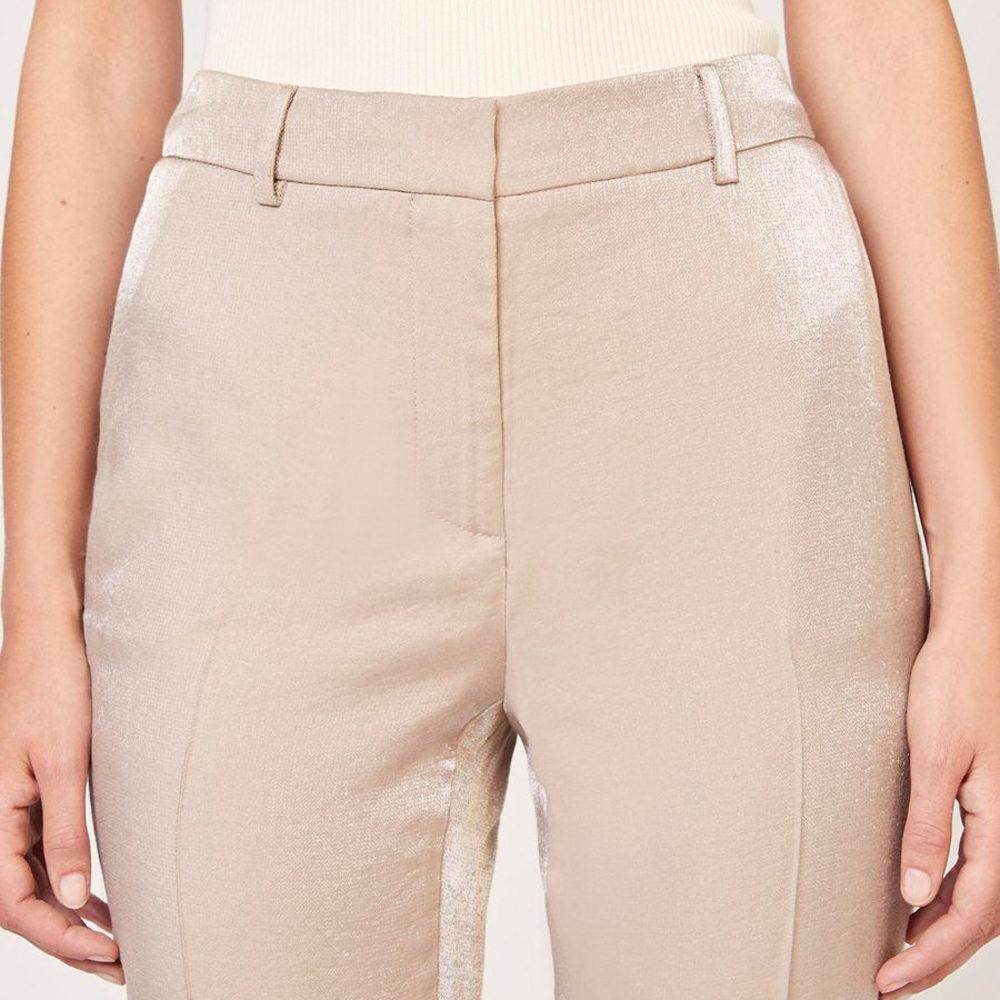 Pantalón tornasolado con lurex