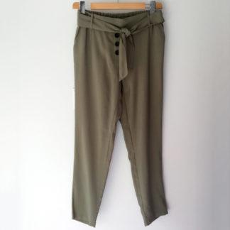 Pantalón tobillero cintura elástica Andamio