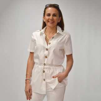 Camisa blanca estilo colonial Gerry Weber