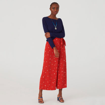 Falda pantalon print mini mariscos Nice Things