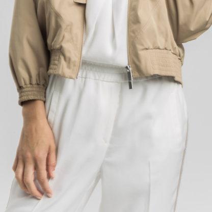 Pantalon tobillero banda macrame Alba Conde