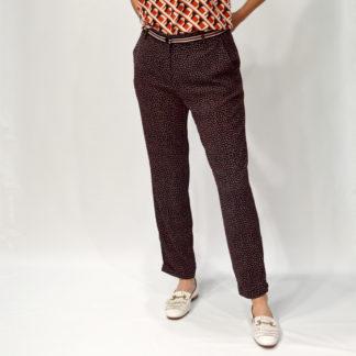 Pantalon tobillero estampado corbatero Andamio