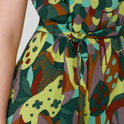 Vestido largo print selva Nice Things