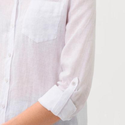 Bluson camisero de lino Brax