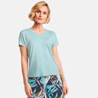 Camiseta escote de pico con ondas Gerry Weber