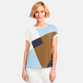 Camiseta intarsia geometrica Gerry Weber