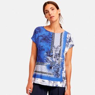 Camiseta print botanical en viscosa sostenible Gerry Weber