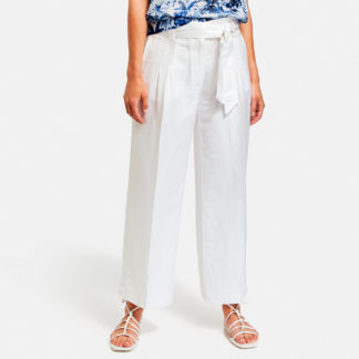 Pantalon crop lino Gerry Weber
