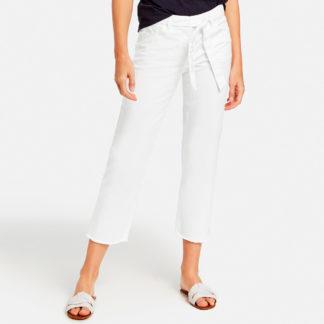 Pantalon tobillero en loneta de algodon organico Gerry Weber