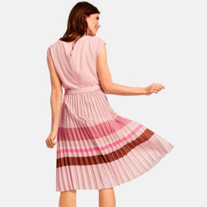 Vestido midi falda plisada Gerry Weber