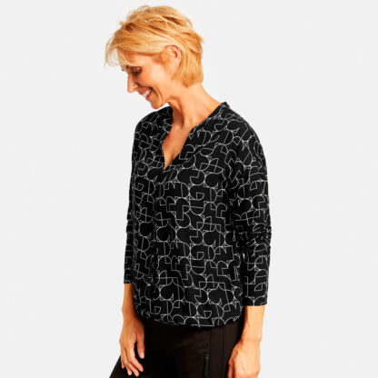 Blusa doble tejido estampada Gerry Weber