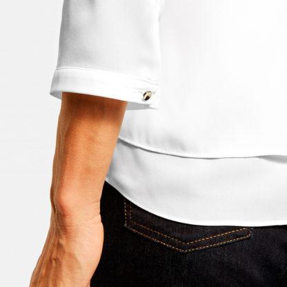 Blusa manga 3/4 con efecto cruzado Gerry Weber