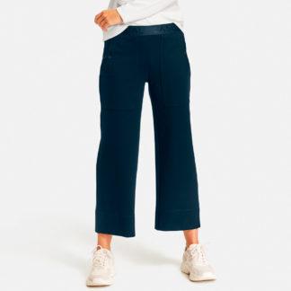 Pantalón casual cintura elástica
