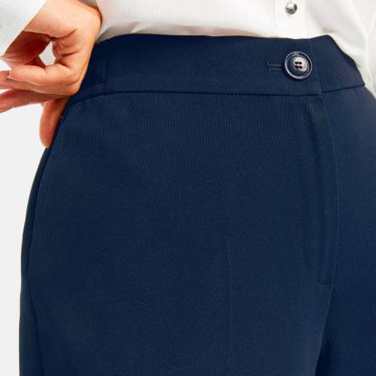Pantalon de vestir marino Gerry Webe