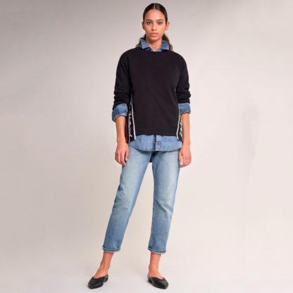 Susadera logo franjas laterales Salsa Jeans