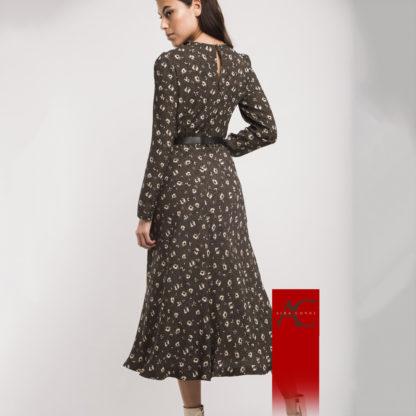 Vestido largo estampado liberty Alba Conde