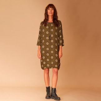 Vestido túnica estampado vintage La Fée Maraboutée