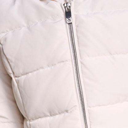 Abrigo acolchado entallado con cinturón Salsa Jeans