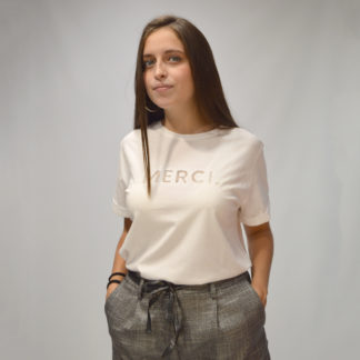Camiseta algodón orgánico Merci